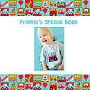 Personalised Little Boys Transport Book