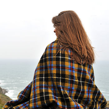 Cornish Tartan Throw