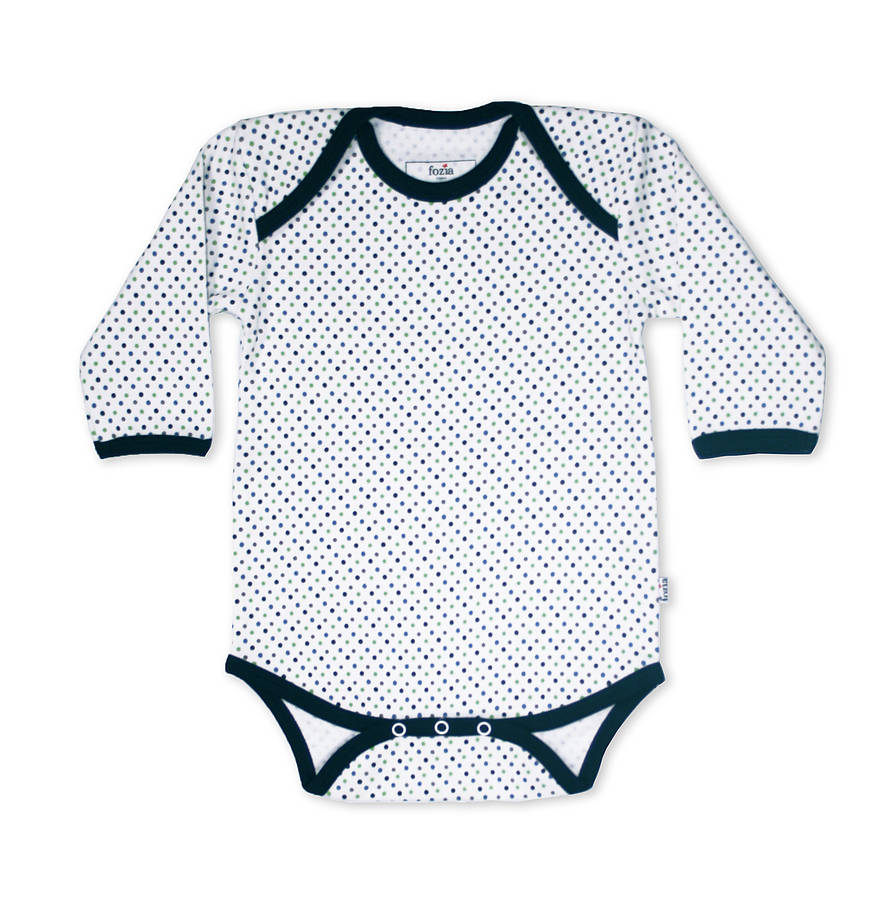 Dotted Babygrow