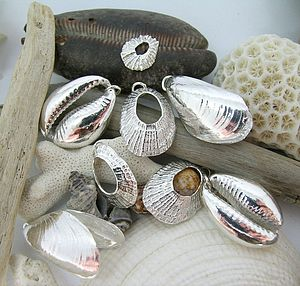 Mixed Seashell Charms - charm jewellery