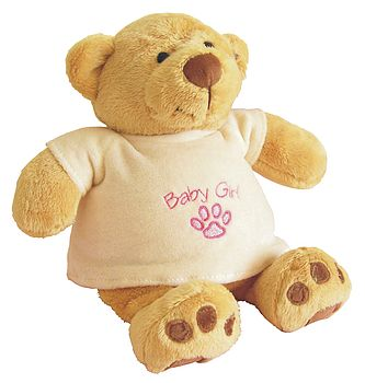 Personalised first teddy