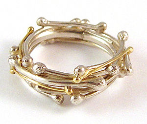 Autumn Garland Ring - rings