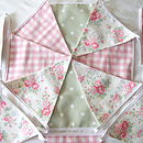 Spray Flowers Bunting