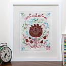 Embroidered Love Note: Endless Love