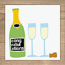 Congratulations card (also available as a pack of 6 cards)