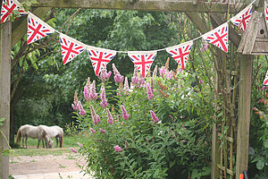 Union Jack Bunting - children's room accessories