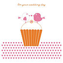 'Love Birds' Wedding Card