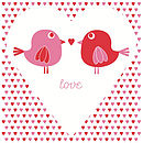 'Lovey Dovey' Greeting Card
