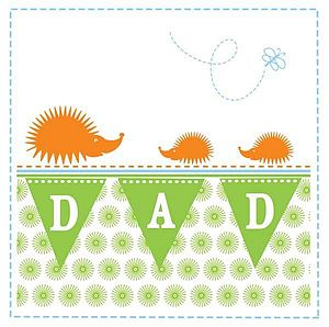 'Dad' Greeting Card