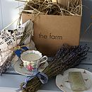 Vintage China Lavender Gift Set