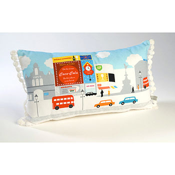 Piccadilly Circus Cushion
