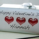 Personalised Valentine Chocolate Bar