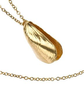 Mussel Shell Pendant - necklaces & pendants