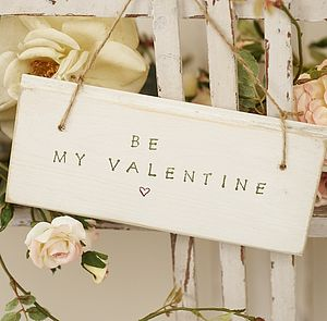 Personalised Valentine's Sign - room signs