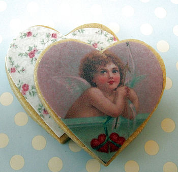 Sweetheart Cherub Cookies