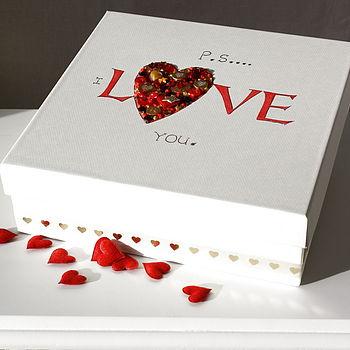 Love Heart Keepsake Box