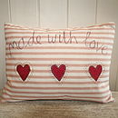 Made with Love Cushion