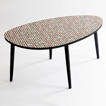 Long Dot Coffee Table