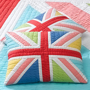 Happy Jack Patchwork Cushion - cushions