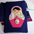Purple Russian Doll Case