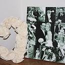 Wedding Canvas Photo Montage