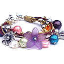 childs flower bracelet