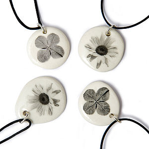 Porcelain Pendant - necklaces & pendants