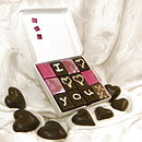 Chocolala valentine personalised box
