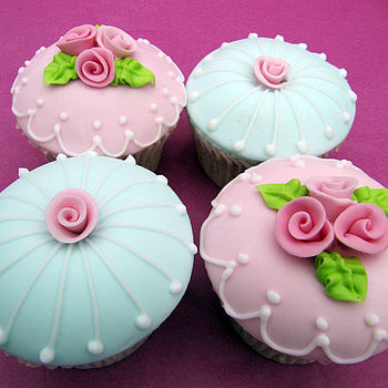 The Rose Garden Collection Couture Cupcakes