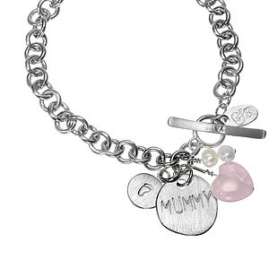 Pitter Patter Personalised Charm Bracelet - women's jewellery
