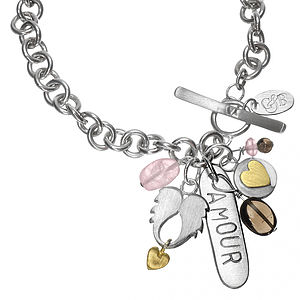 Amour Personalised Charm Bracelet