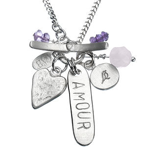 Amour Classic Personalised Necklace - necklaces & pendants
