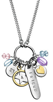 Friends Personalised Mini Necklace
