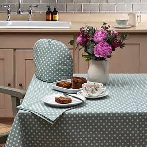 Madelaine Sage Table Cloth - bed, bath & table linen