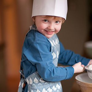 Isabella Children's Organic Apron - children's cooking