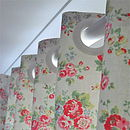 Handsewn blackout lined Curtains in Cath Kidston Spray flowers