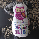 A Little Bird Told Me Personalised Apron