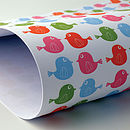 Cheerful chirp wrap