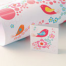 Bubble Gum Gift Wrap and Gift Tag Set