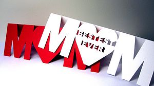 Personalised Cut Out Mum Card - cards & wrap