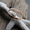 Gold Wedding Ring Band