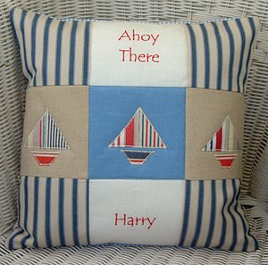 'Ahoy There' Cushion - cushions