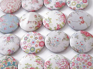 Set Of Six Flower Magnets - kitchen