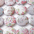 Set Of Six Flower Magnets