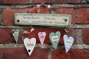 Grandma's House Additional Hearts Only - decorative accessories
