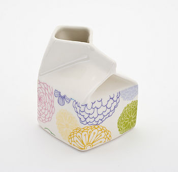 dahlia small milk jug