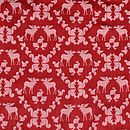 Red moose pattern