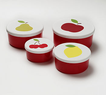 Set of 4 Snack Boxes