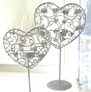 Heart Tea Light Holder - tableware