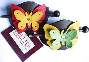 Butterfly Hairslides - hair accessories